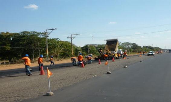 Workers Repairing Road Image